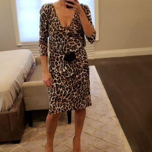 NWT WOMEN'S LEOPARD PRINT ZARA DRESS